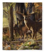 Eminence At The Forest Edge Fleece Blanket
