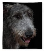 Irish Wolfhound II Fleece Blanket