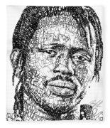 Emmanuel Jal Fleece Blanket