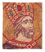 Emperor Constantine I Fleece Blanket