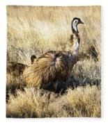 Emu Chicks Fleece Blanket