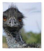 Emu Gaze Fleece Blanket