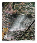 Enchanted Forest - Featured In Wildlife Group Fleece Blanket