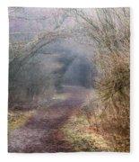 Enchanted Pathway Fleece Blanket