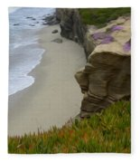 Enchanted Spaces California La Jolla Fleece Blanket