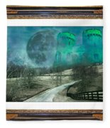 Enchanting Evening With Oz Fleece Blanket