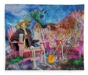 Enchanting Humor Fleece Blanket