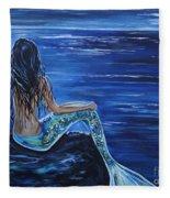 Enchanting Mermaid Fleece Blanket