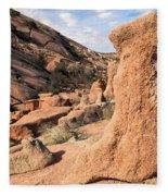 Enchanting Rocks Fleece Blanket