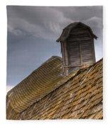 End Of An Era Roof Detail Fleece Blanket