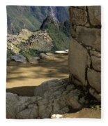 End Of Inca Trail Fleece Blanket