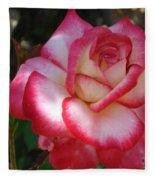 End Of June Bloom Fleece Blanket