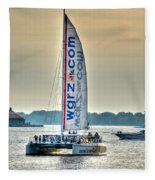 End Of The Tour Back To Shore Fleece Blanket
