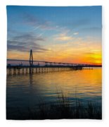 End To The Day Fleece Blanket