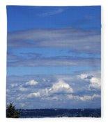 Endless Clouds Fleece Blanket