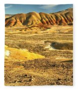 Endless Painted Hills Fleece Blanket