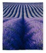 Endless Rows Fleece Blanket