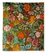 Endplate From A Turkish Book Fleece Blanket