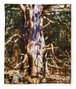 Enfolding The Light Fleece Blanket