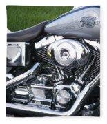 Engine Close-up 5 Fleece Blanket