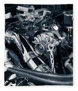 Engine Details Fleece Blanket