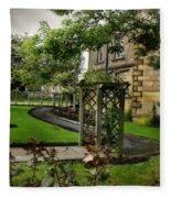 English Country Garden And Mansion - Series IIi. Fleece Blanket