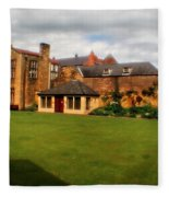 English Country Gardens - Series Vi Fleece Blanket