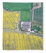 English Farm Fleece Blanket