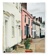 English Houses Fleece Blanket