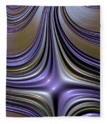 English Lavender Fleece Blanket