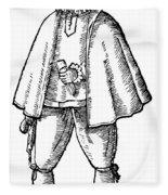 English Merchant, 1598 Fleece Blanket
