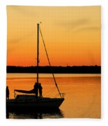 Enjoy The Moment 02 Fleece Blanket
