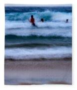 enjoy the ocean I Fleece Blanket