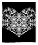 Enlightened Heart Fleece Blanket