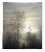 Fog Of Enlightenment Fleece Blanket