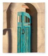 Enter Turquoise Fleece Blanket