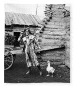 Entertainer, 1901 Fleece Blanket