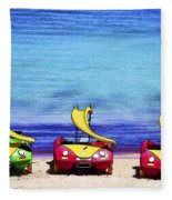 Three's Fun Fleece Blanket