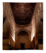 Entrance To The Ambassadors Hall In The Alhambra Fleece Blanket