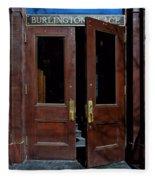 Entry - Burlington Place - Omaha Fleece Blanket