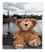 Epcot Bear Fleece Blanket
