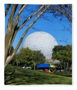 Epcot Globe Walt Disney World Fleece Blanket