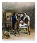 Ephraim Mcdowell, 1809 Fleece Blanket