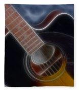 Epiphone Acoustic-9481-fractal Fleece Blanket