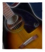 Epiphone Acoustic-9484-fractal Fleece Blanket