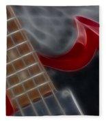Epiphone Sg Bass-9205-fractal Fleece Blanket
