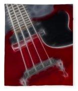 Epiphone Sg Bass-9241-fractal Fleece Blanket