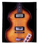 Epiphone Viola Bass Guitar Fleece Blanket