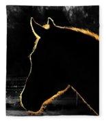 Equine Glow Fleece Blanket