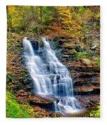 Erie Falls Fleece Blanket